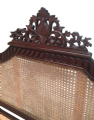 French Rattan Four Poster Bed